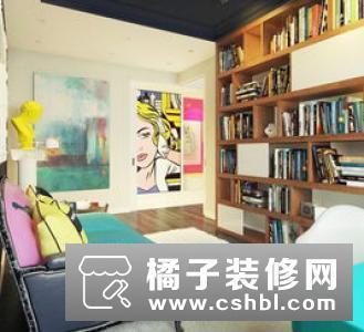 波普风格家具五、布衣沙发娇艳的红色沙发会成为你冷色调的一笔