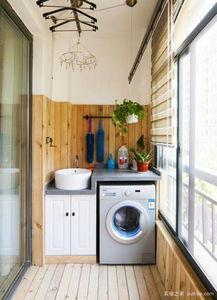 阳台洗衣柜什么材质好?阳台洗衣柜怎么装比较好?