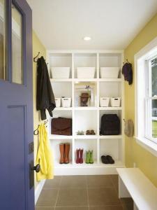 进门鞋柜怎么装修最合理?装修网列举图片来说明