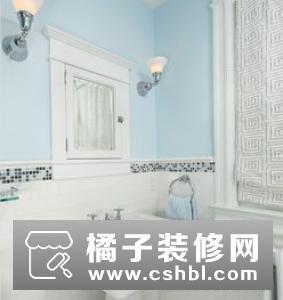 马赛克瓷砖卫生间怎么装好看?不同区域使用美感各异