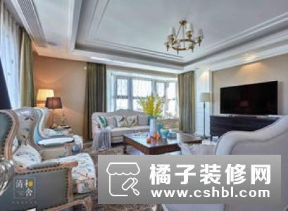 美式新古典风格别墅装修设计 营造白色调优雅氛围