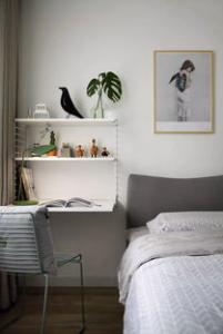 床头壁灯高度多少比较合适?床头壁灯安装位置必看!
