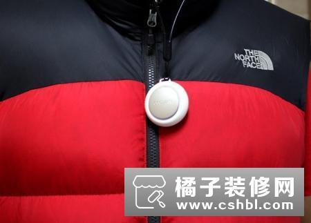 CoClean随身净化器,挂在胸前保护你的呼吸健康