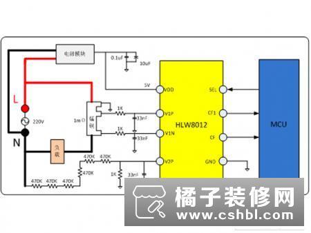 应物联网而生:合力为HLW8012系列免校准电能计量芯片