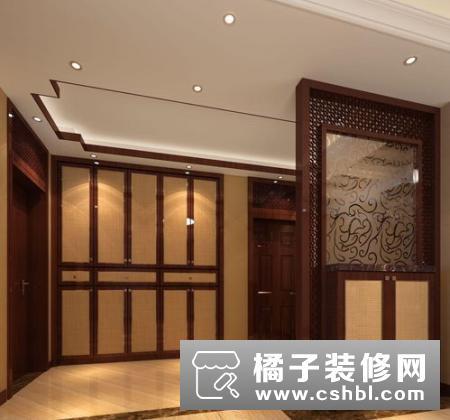 新中式玄关设计方法  设计玄关注意事项